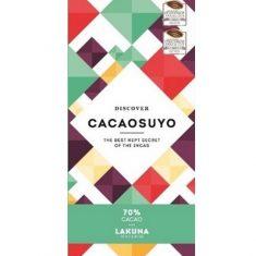 Chocolat noir Cacaosuyo - Lakuna 70% de Cacao