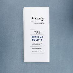 Chocolat Noir Oialla - Beniano 78% de Cacao