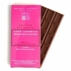 Chocolat au Lait Benoit Nihant - Café Bio 58%