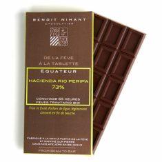 Chocolat Noir Benoît Nihant - Equateur Bio 73%