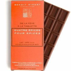 Chocolat au Lait - Quatre Epices Bio 58%