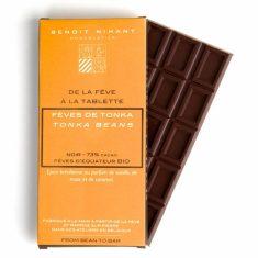 Chocolat Noir Benoit Nihant - Tonka Bio 73%