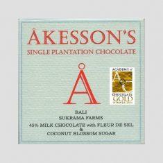 Chocolat au Lait Akesson's - Fleur de Sel 45% de Cacao