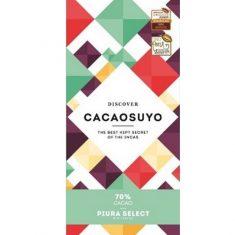 Chocolat Noir Cacaosuyo - Piura Select 70% de Cacao