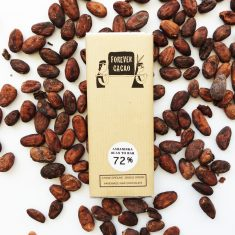 Chocolat Noir FOREVER CACAO - 72% de Cacao