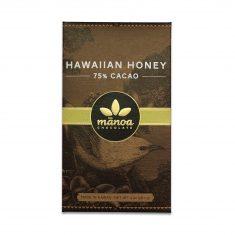 Chocolat Noir Manoa - Hawaiian Honey Miel 75%