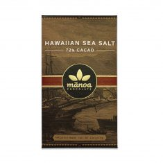 Chocolat Noir Manoa - Sea Salt Cristaux de Sel 72%