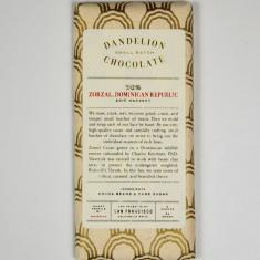 Chocolat Noir Dandelion - République Dominicaine 70%