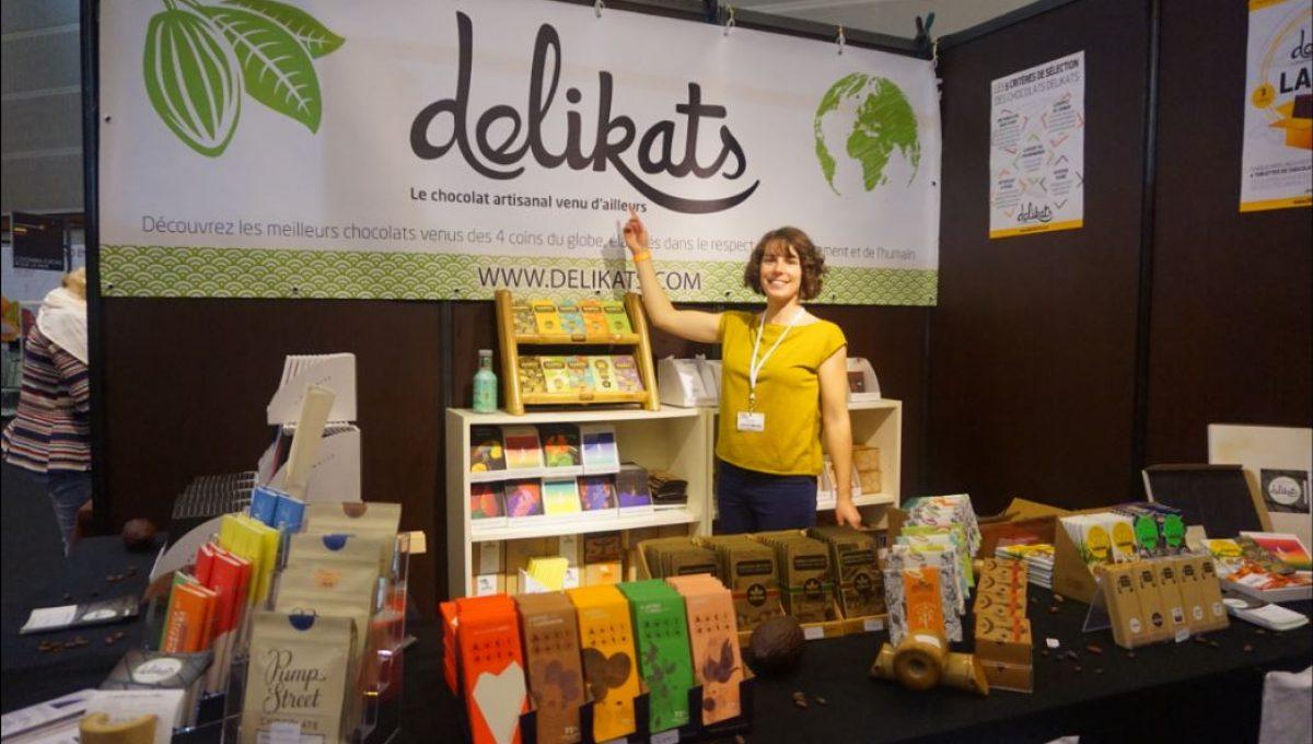 L'aventure de Delikats au salon du chocolat !