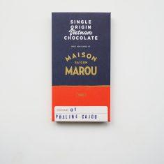 Chocolat noir Marou - Praliné Cajou 65% Cacao