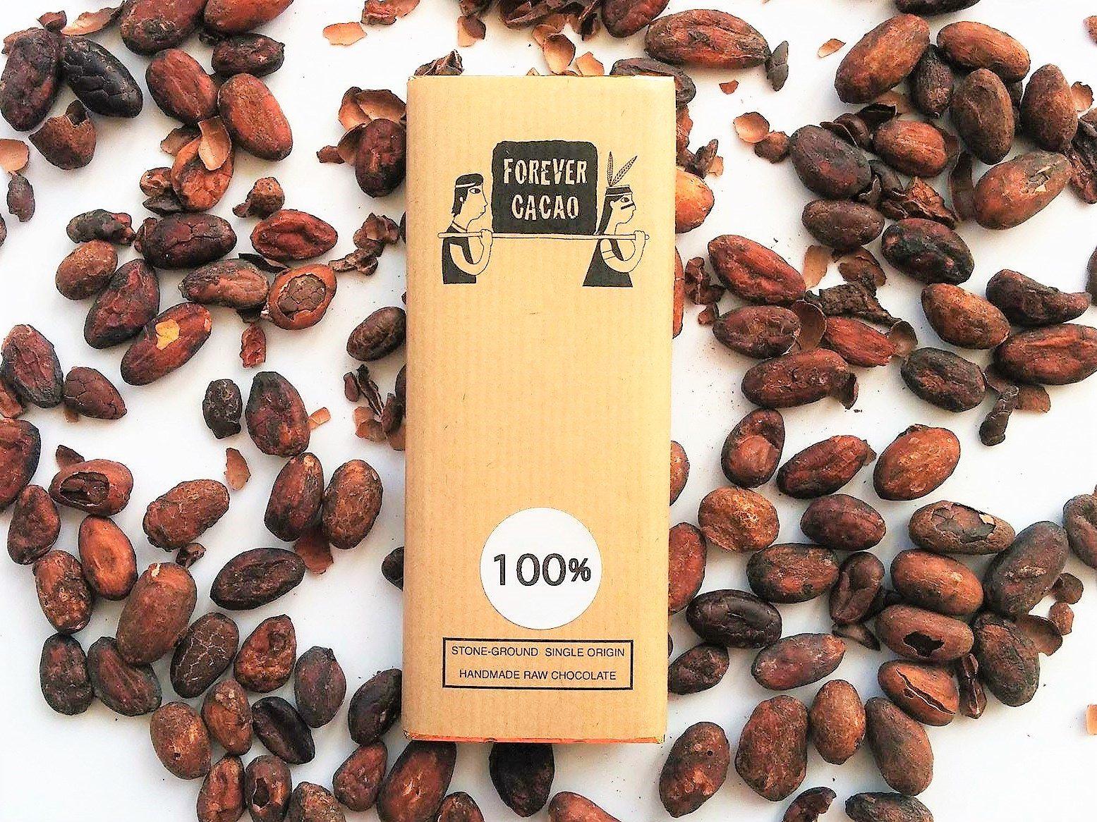 Chocolat Noir FOREVER CACAO – 100% de cacao