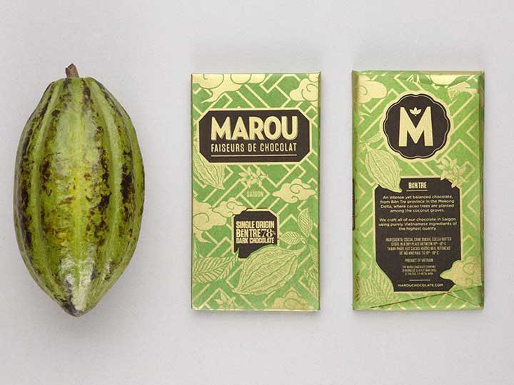 Chocolat Noir Marou – Ben Tre 78% de Cacao