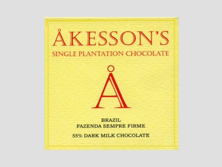 Chocolat au Lait Akesson's – 55% de Cacao