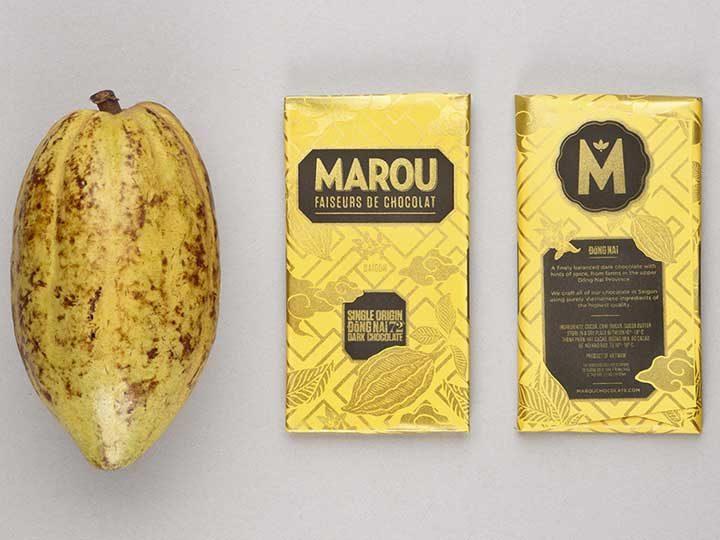 Chocolat Noir Marou – Dong Nai 72% de Cacao