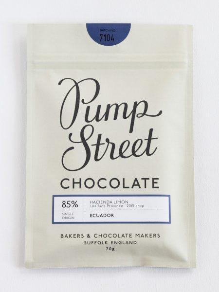Chocolat Noir PumpStreet Bakery – Equateur 85%