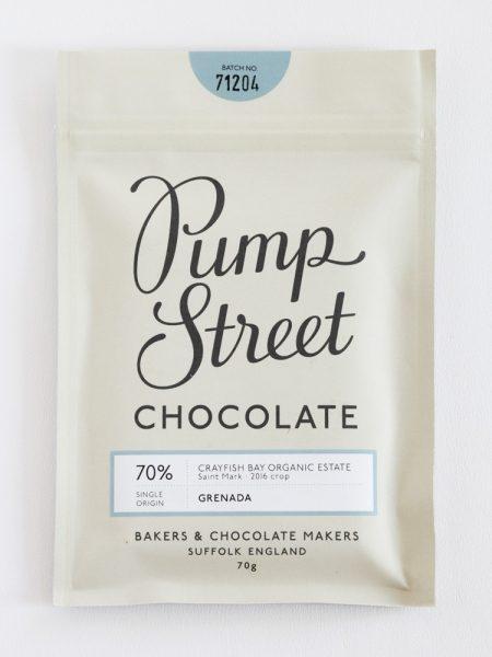 Chocolat Noir Pumpstreet Bakery – Grenada 70%