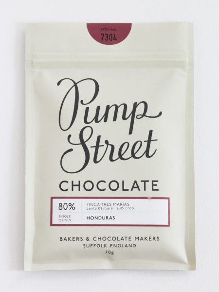 Chocolat Noir Pumpstreet Bakery – Honduras 80%