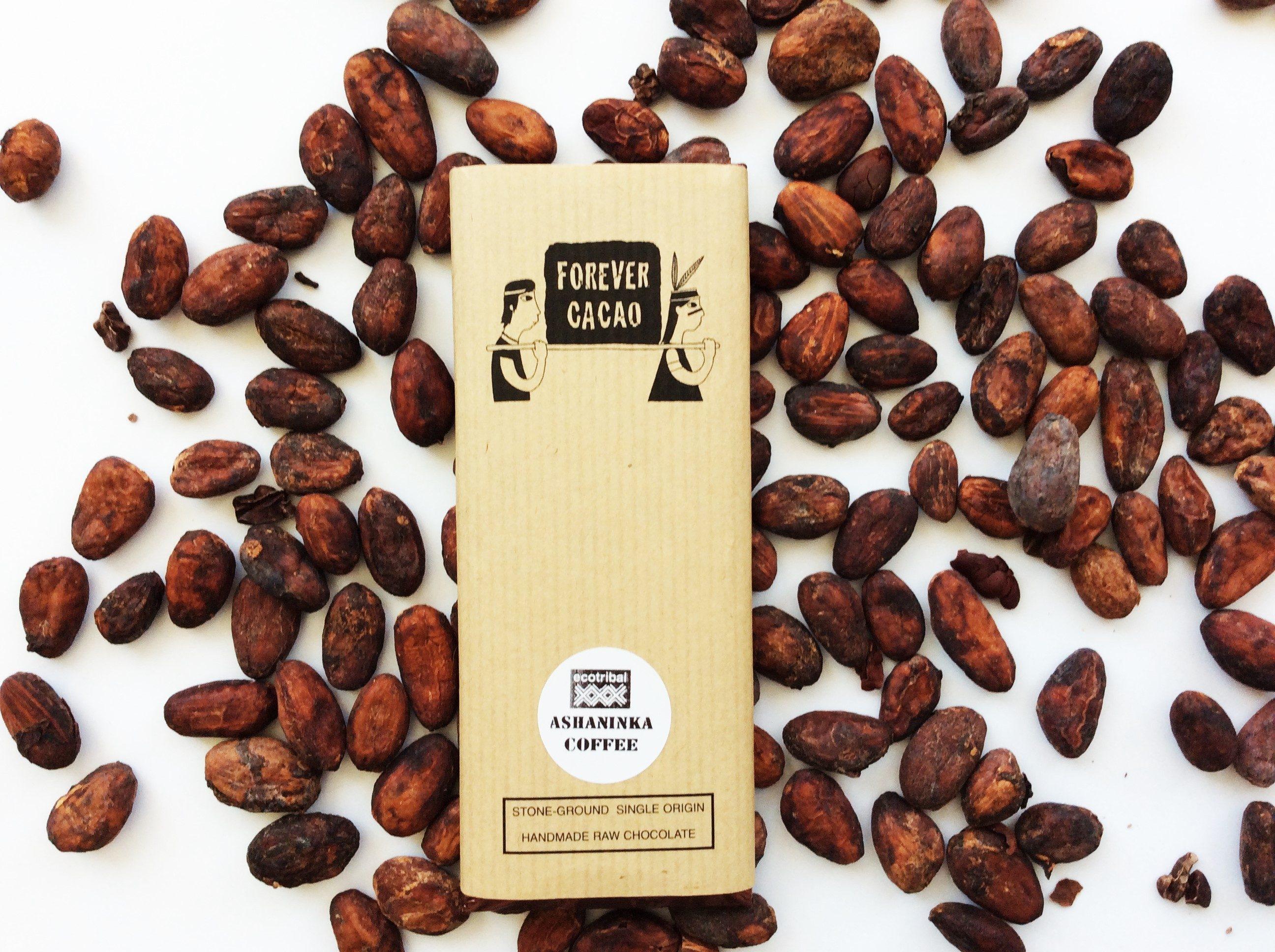 Chocolat Forever Cacao – Café Ashaninka 80%