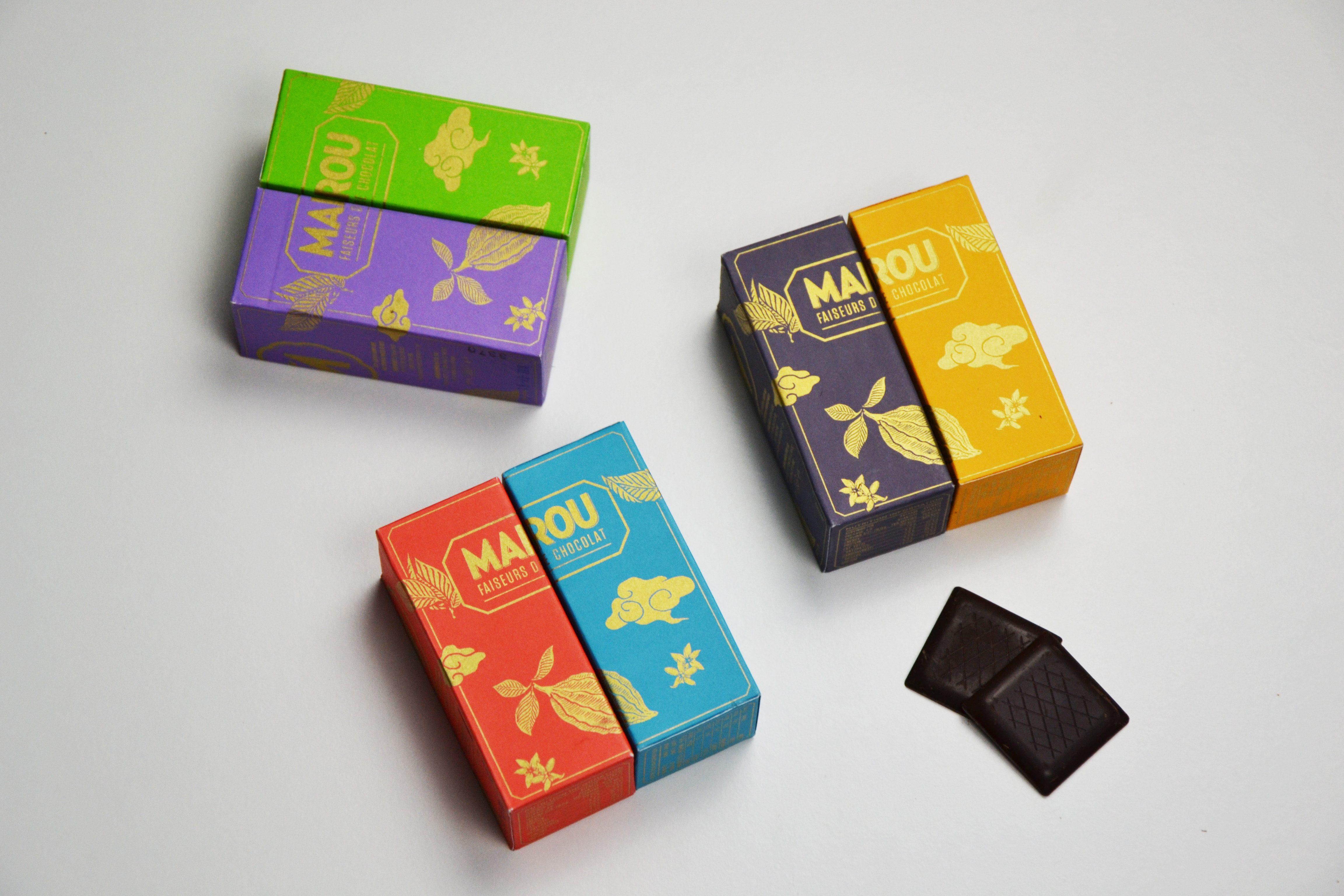 Napolitains Marou – Chocolat Noir