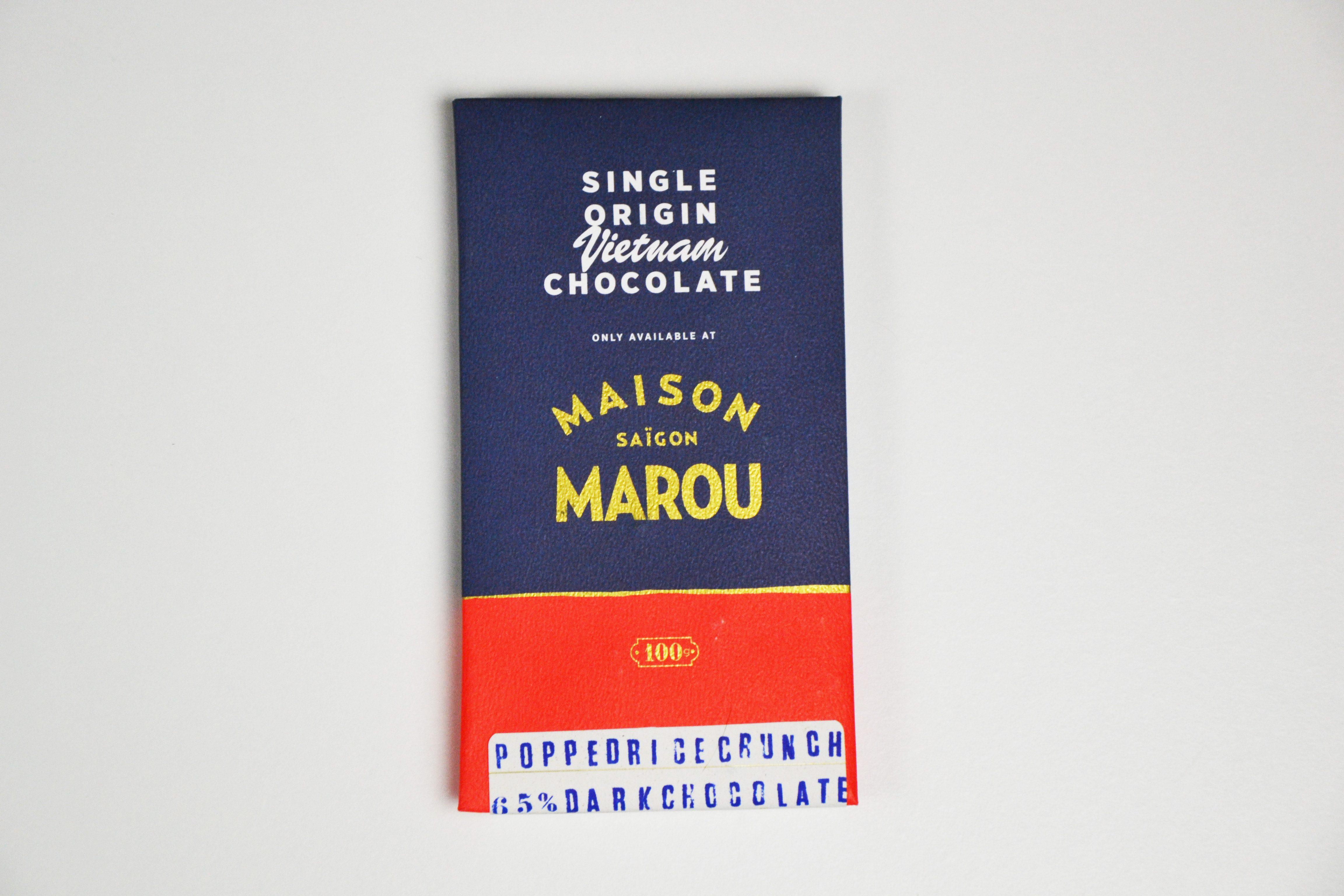 Chocolat noir Marou – Riz Soufflé 65% Cacao