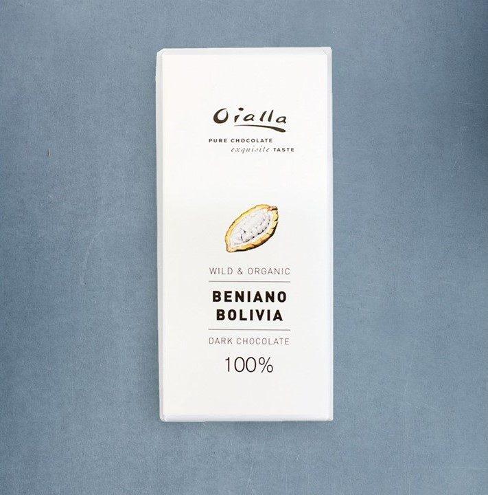 Chocolat Noir Oialla – 100% de Cacao