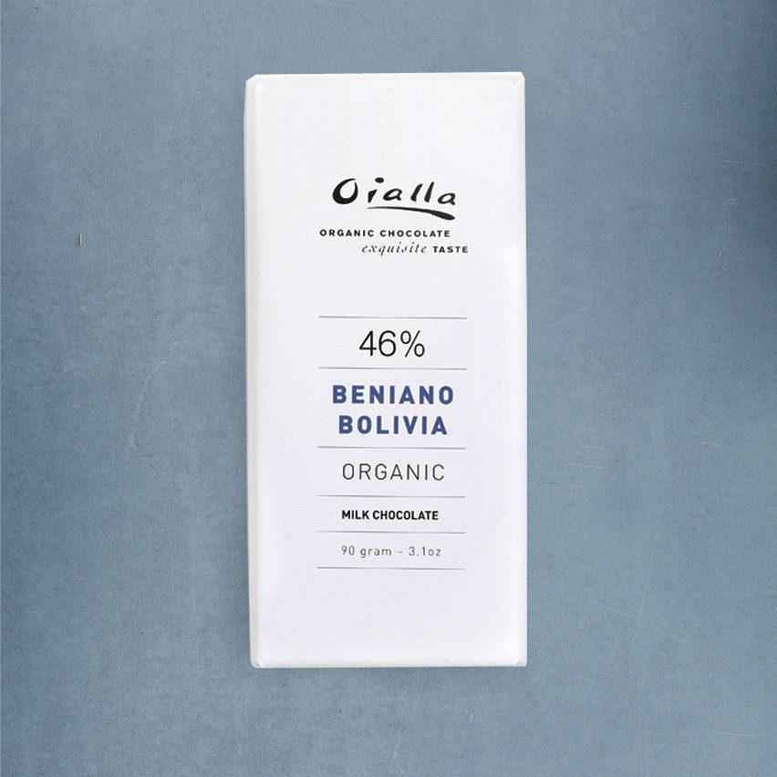 Chocolat au Lait – Oialla Beniano 46% de Cacao