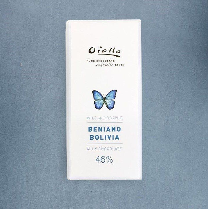 Chocolat au Lait Oialla – Beniano 46% de Cacao