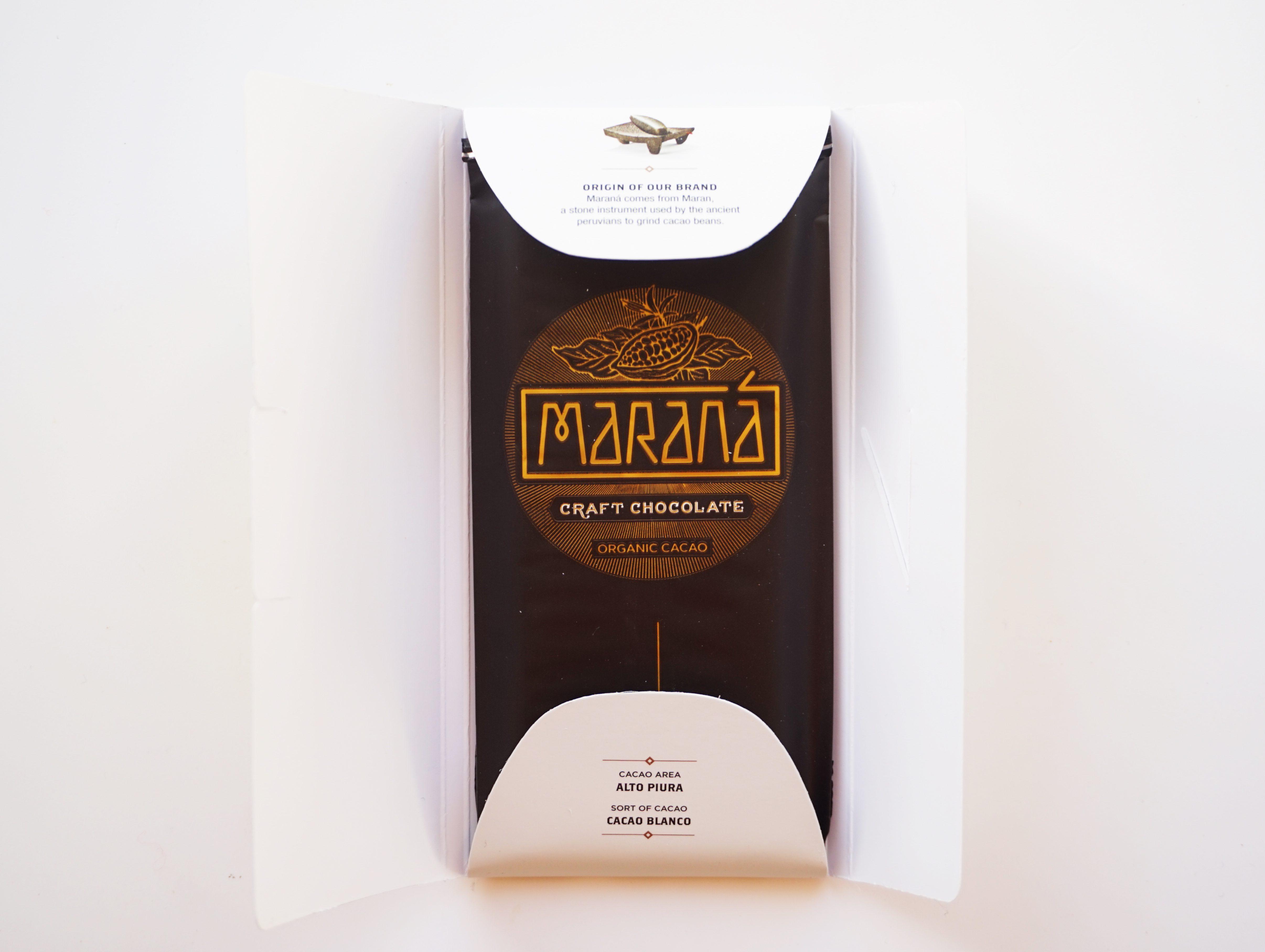 Chocolat Noir Marana – Piura 80% de cacao