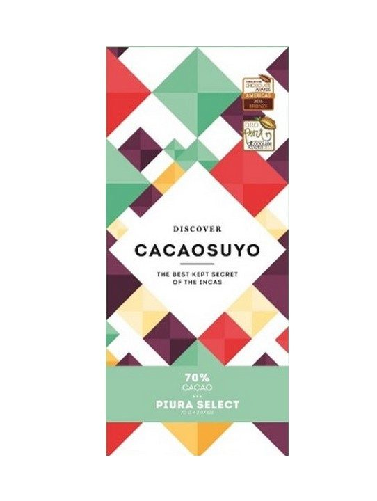 Chocolat Noir Cacaosuyo – Piura Select 70% de Cacao
