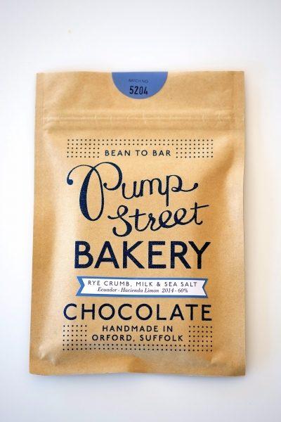 Chocolat Pumpstreet Bakery – Pain Lait & Sel