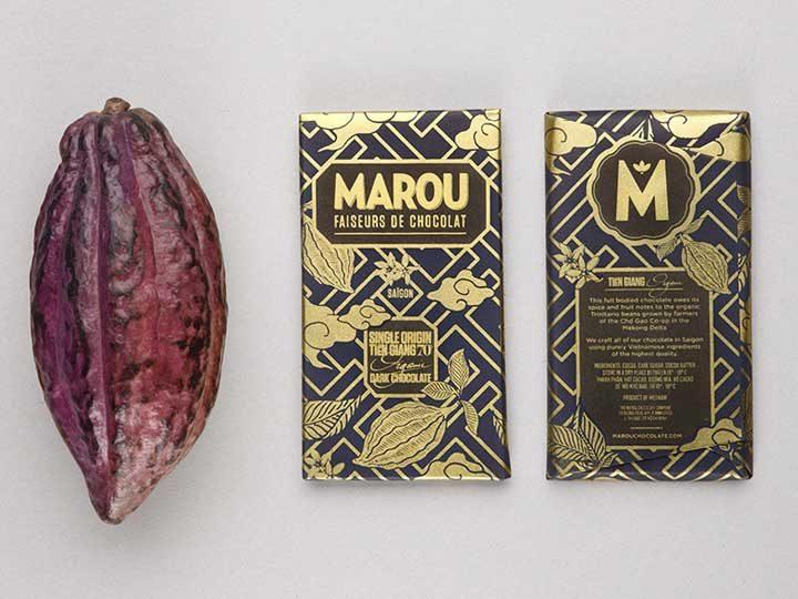 Chocolat noir Marou – Tien Giang 70% de Cacao