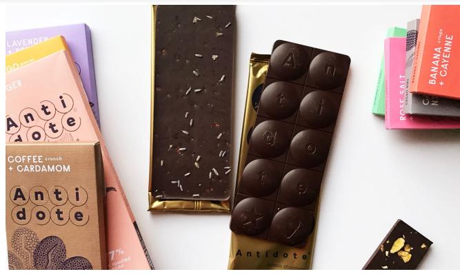 Chocolat Noir Antidote Kakia – Café Cardamome 73%