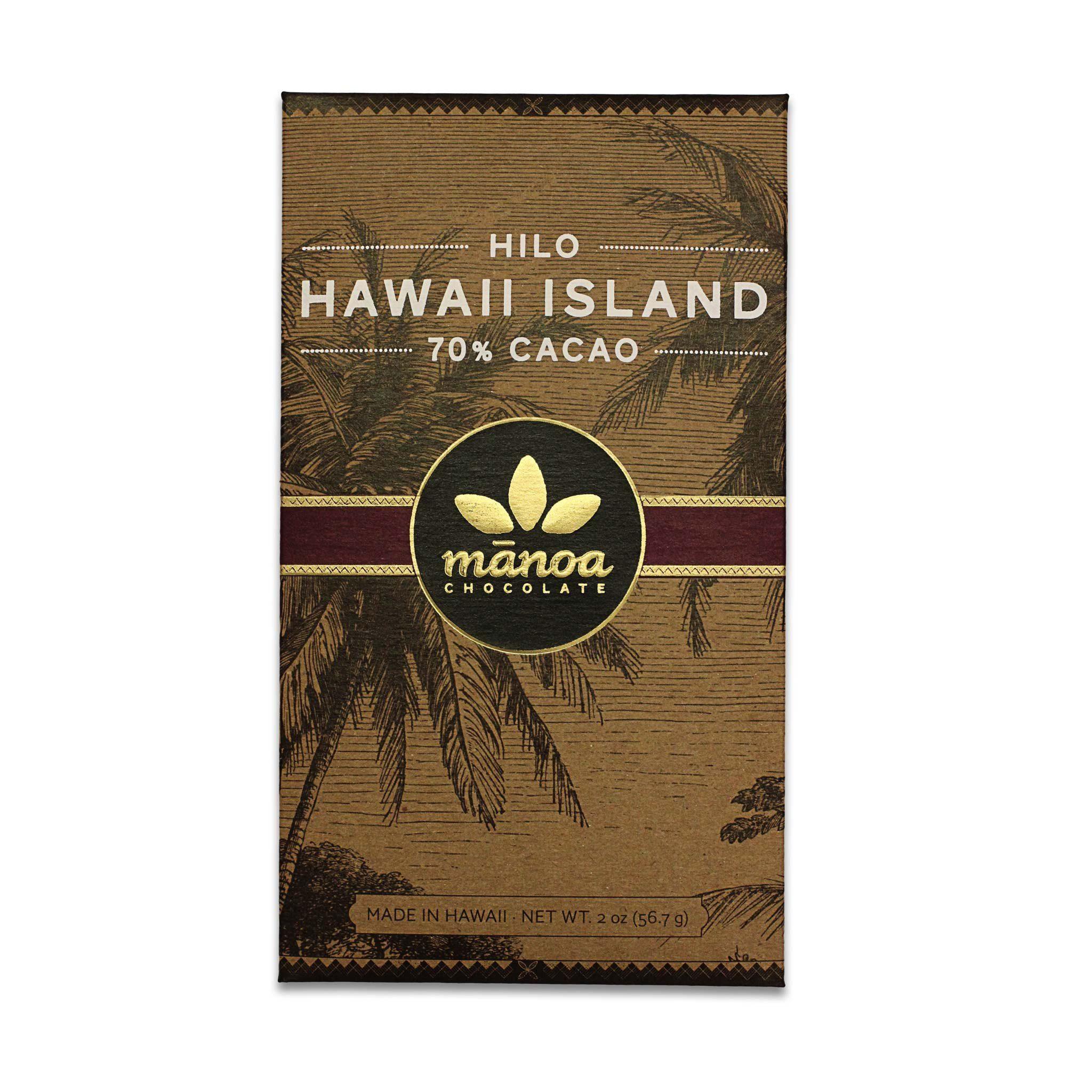 Chocolat Noir Manoa – Hilo 70% de Cacao