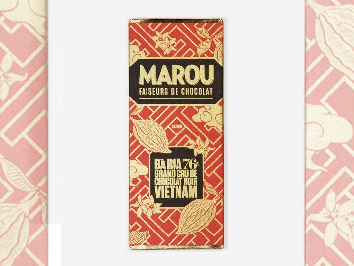 Chocolat Noir Marou – Mini Ba Ria 76% de Cacao