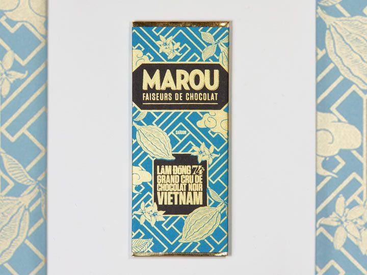 Chocolat Noir Marou – Mini Lam Dong 74% de Cacao